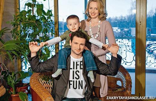 антон хабаров с семьей фото